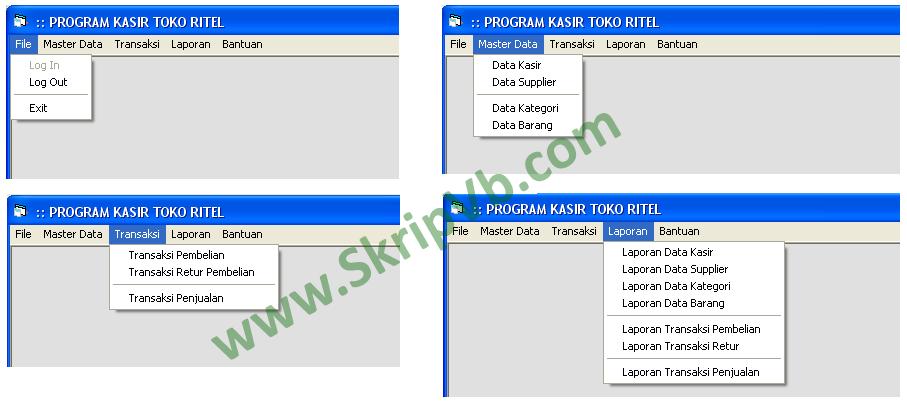 program aplikasi penjualan pembelian berbasis visual basic