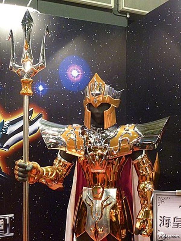 Cavaleiros do Zodíaco - Armaduras Tamanho Real 13