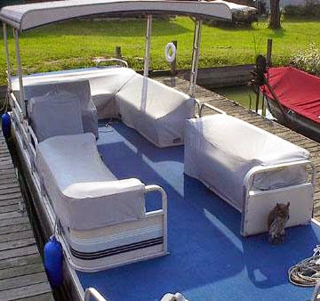 pontoon seat covers IMAGE