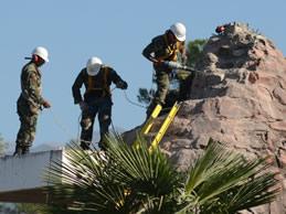 Demolición del Monumento al Combate de Manchalá