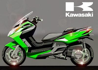 Motor Kawasaki Ninja Matic J300