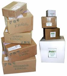 Seu pedido é preparado com muito carinho e enviado muito bem embalado!