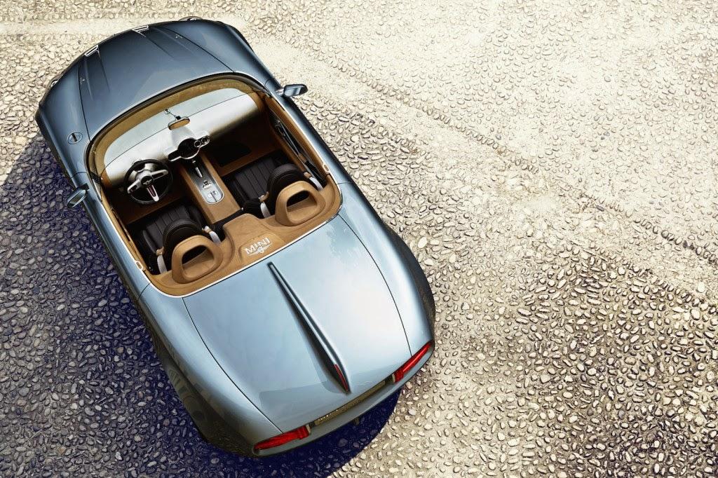 Mini Superleggera Vision Concept Concorso d'Eleganza di Villa d'Este 2014