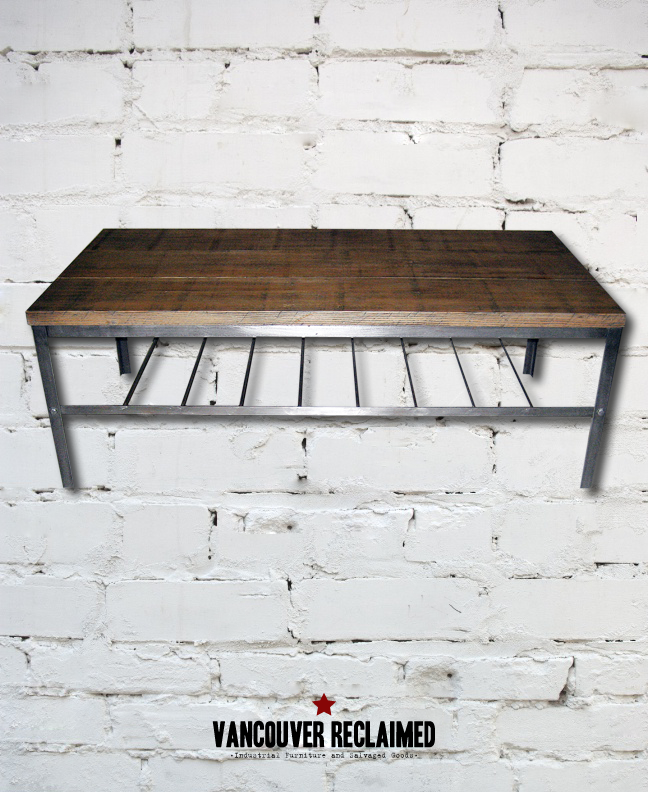 Industrial Coffee Table by Vancouver Reclaimed
