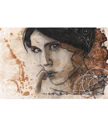 lukisan kopi