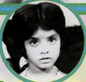 Divya Bharti Childhood Pictures