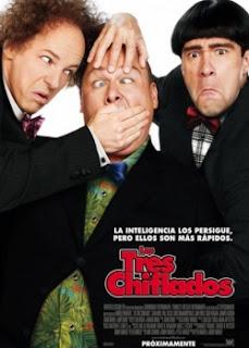 Carátula Los Tres Chiflados película dvdrip latino