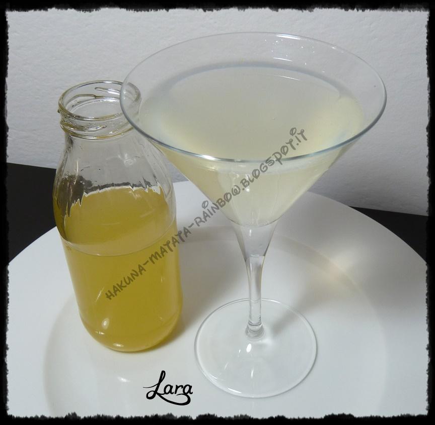 sciroppo di limone per: limonata - simil lemonsoda - simil schweppes al limone - bevanda rinfrescante