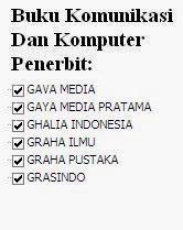 Buku Komunikasi dan Komputer Penerbit Gava, Gaya, Ghalia, Pustaka, Grasindo Online Murah