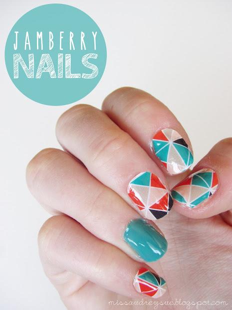 nail art jamberry nails
