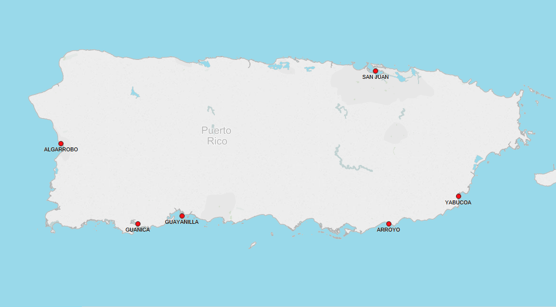 PORTS IN PUERTO RICO