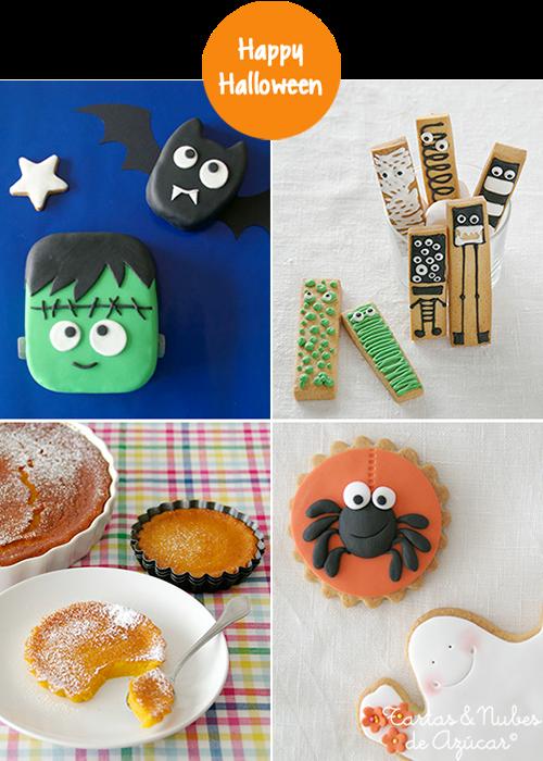 4 ideas dulces para Halloween