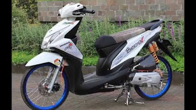 Modifikasi motor beat fi velg 17