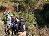 Pujant al Turó del Casuc. Autor: Carlos Albacete