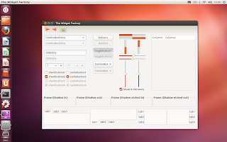 ubuntu 12.10 quantal quetzal beta 1 radiance theme screenshot
