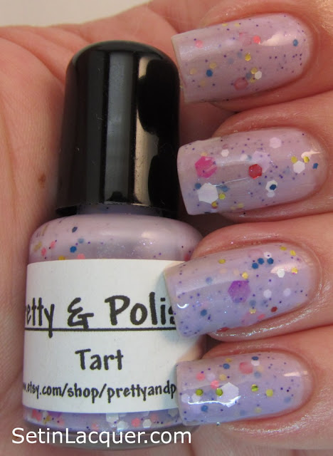 Pretty & Polished Tart nail polish