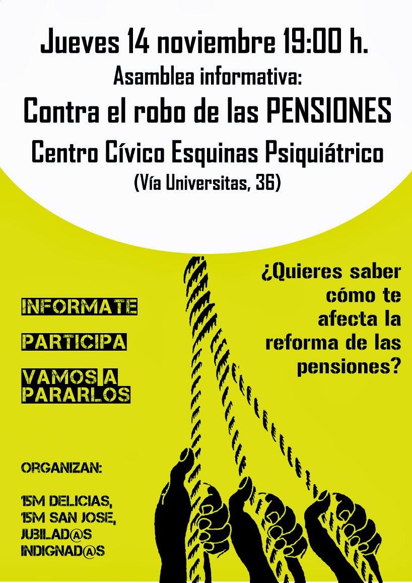Contra el Robo de las Pensiones