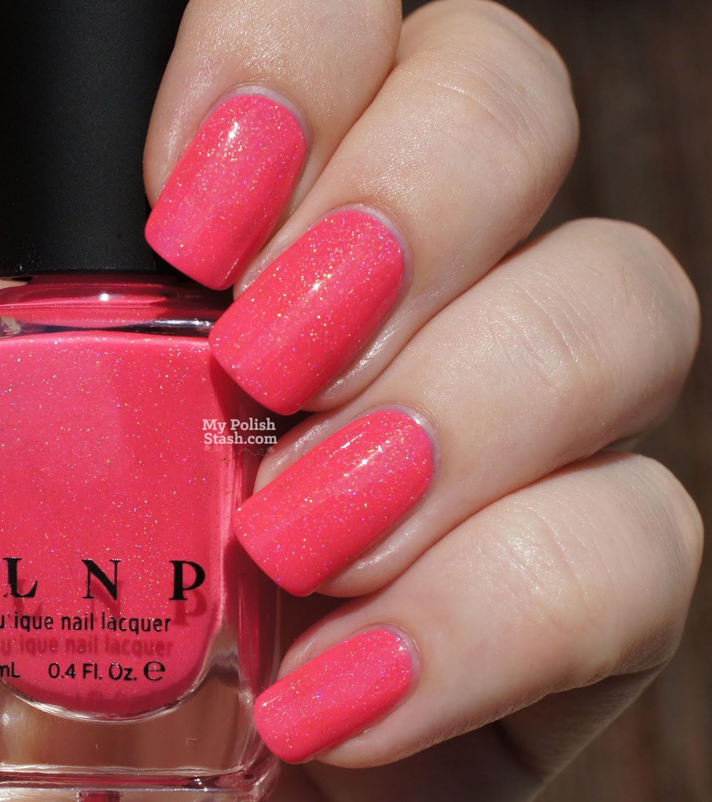 indie pink nail polish