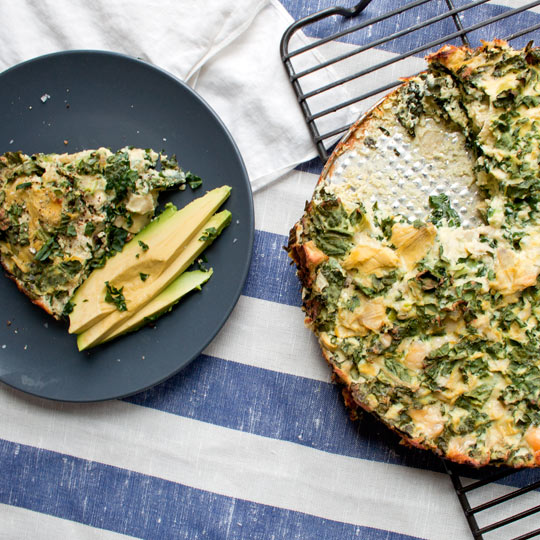 Pardon My Crumbs: Eggy-licious: Artichoke, Kale & Ricotta Pie