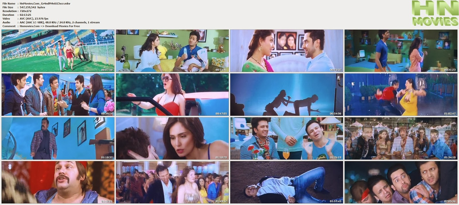 movie screenshot of Grand Masti fdmovie.com