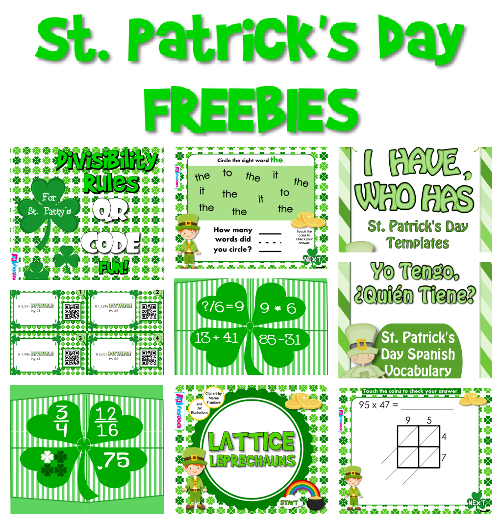 st patrick u0027s day freebies
