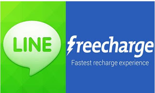 (Loot) Get Rs 50 Cashback Freecharge Coupon On Minimum Recharge Of Rs 20 From Line App (Unlimited Trick)
