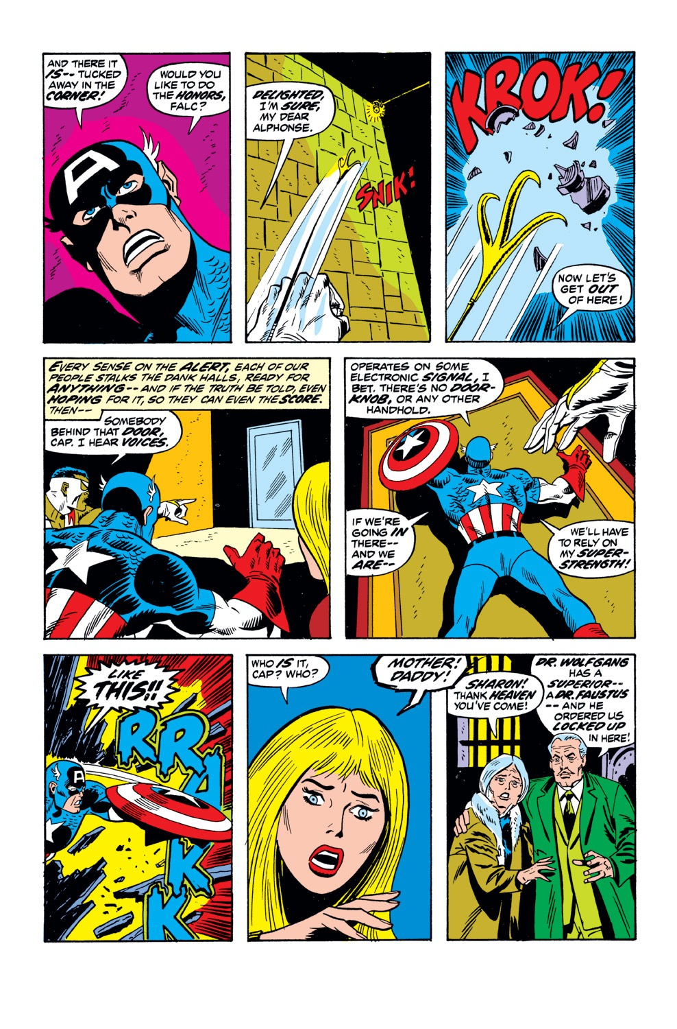 Captain America (1968) Issue #162 #76 - English 13