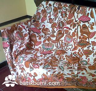 batik semi tulis sogan