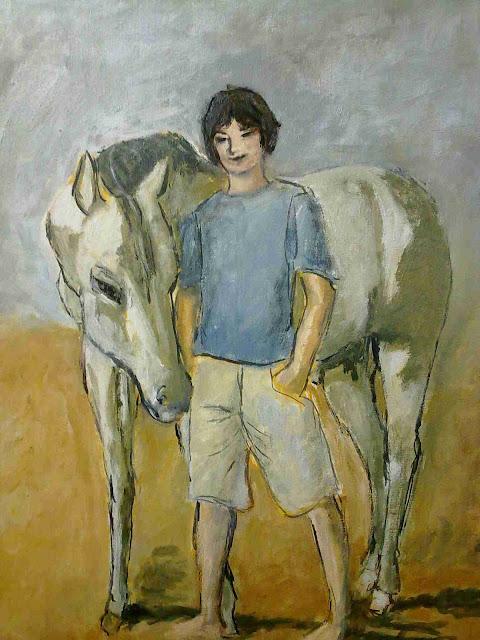niño y caballo