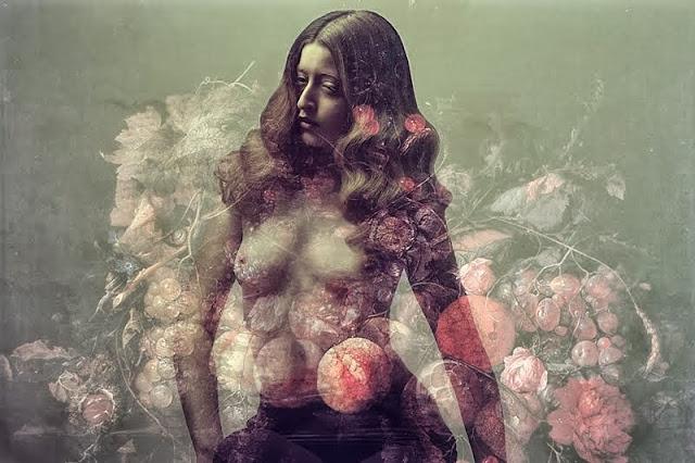 photographie porodina elizaveta femme tableau peint fruits