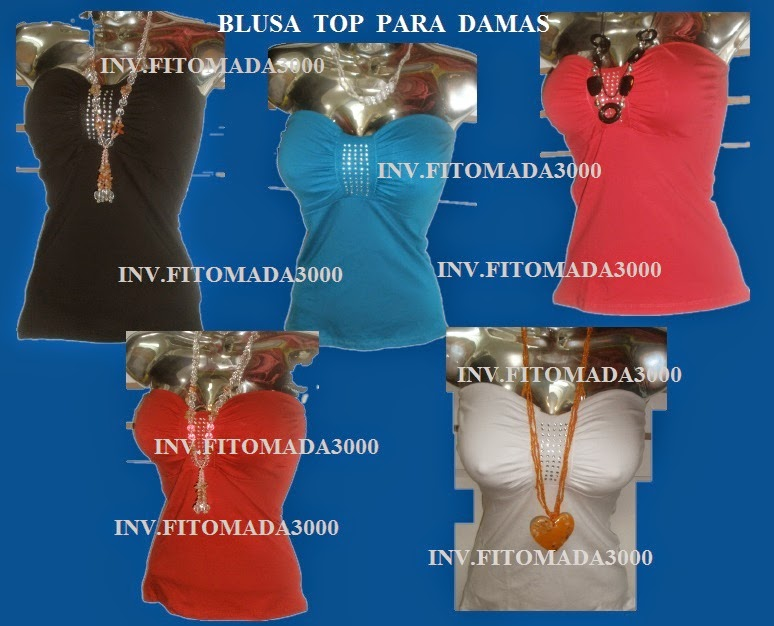 BLUSA TIPO TOP EXCELENTE MODELOS