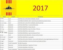 Calendari Trail Roquetes 2017