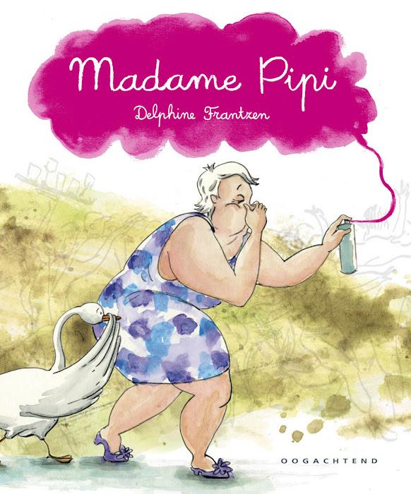 Mijn debuutalbum 'Madame Pipi' verschijnt op 15 februari 2013  bij uitgeverij Oogachtend!