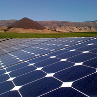 SunPower solar array