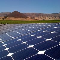 SunPower solar array