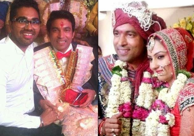 Tv Actor Chandan Prabhakar Married Photos