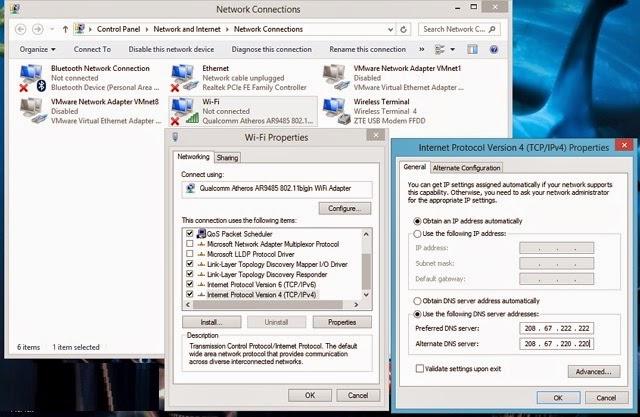 6 Cara Mempercepat Koneksi Internet Windows 8/8.1