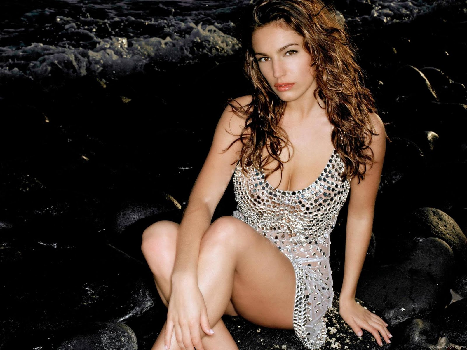 Kelly Brook hot HD wallpaper