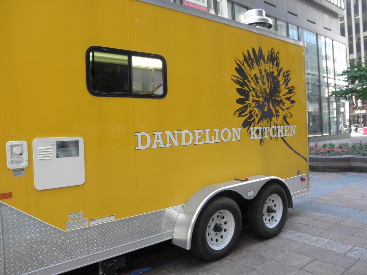 Mack Simone Dandelion Kitchen Food Truck Review