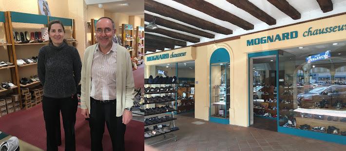 Reprise de la boutique Chaussures Mognard en avril 2016