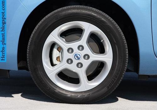Nissan leaf car 2011 tyres/wheels - صور اطارات سيارة نيسان ليف 2011