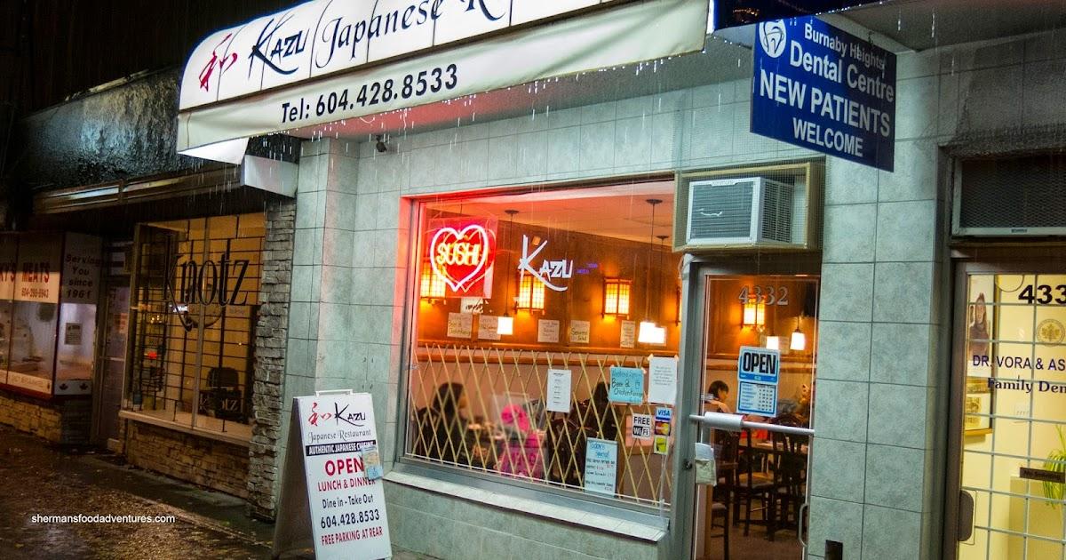 Sherman S Food Adventures Kazu Japanese Restaurant