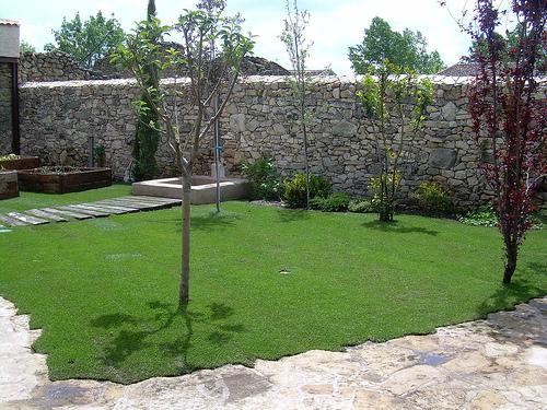 Dise o de jardines estilo de jard n for Diseno jardines