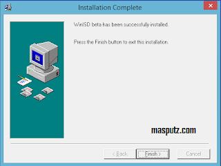 install winisd step 5