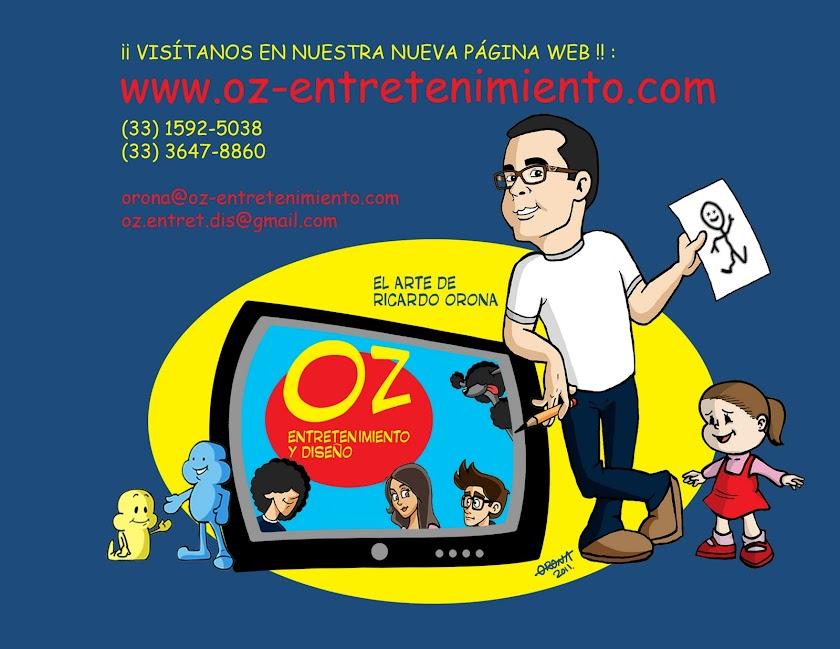 OZ-Entretenimiento Caricaturas