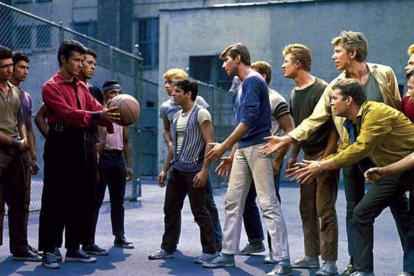 Basketball in West Side Story