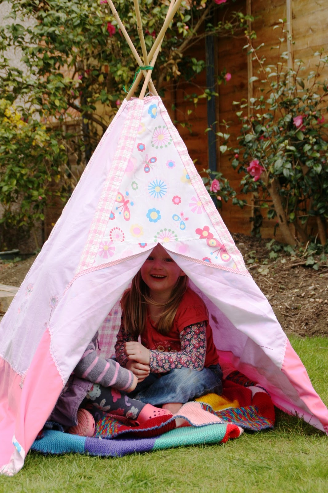 Sewing Homemade Teepee Play Tent : home made tents - memphite.com