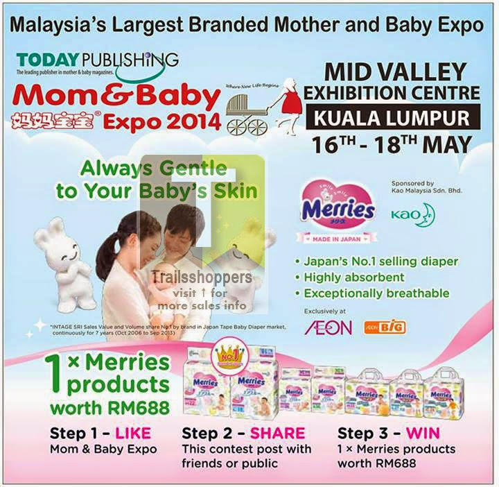 Malaysia's Largest Branded Mother and Baby Expo @ Mid Valley KL