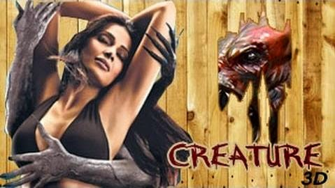 Watch Creature 3D (2014) Non Retail DVDRip Hindi Full Movie Watch Online Free Download