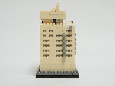 ナノブロックで作ったカワダ本社